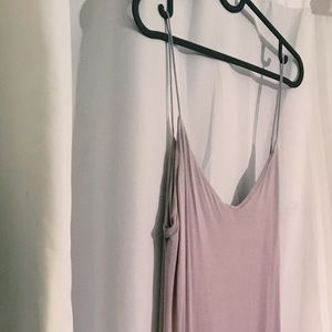 Relaxing Fit Lavender Summer Dress